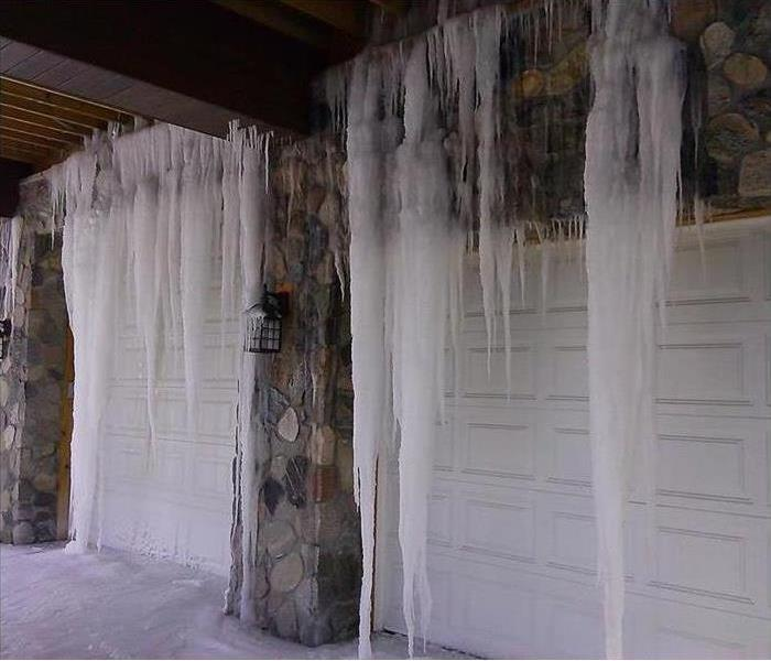 Water Damage Freezing temperatures cause pipes to burst in Putnam County, NY