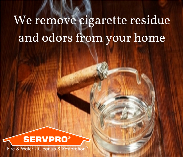 Cleaning Removing cigarette odors and residue from your Brewster home