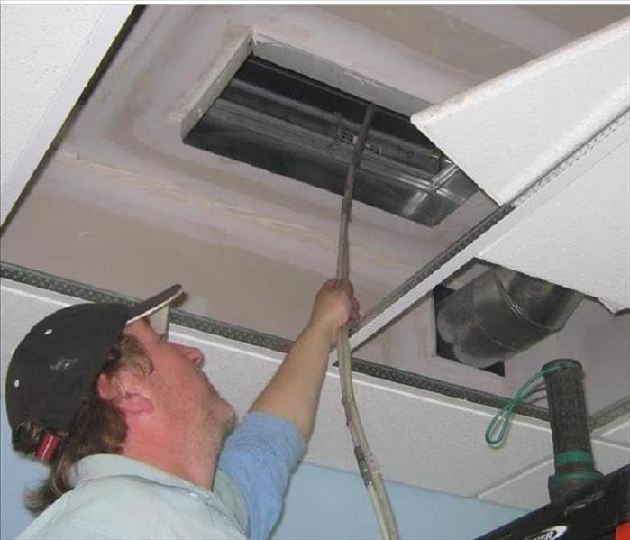 Mold Remediation SERVPRO of Putnam County can clean your ducts before summertime!
